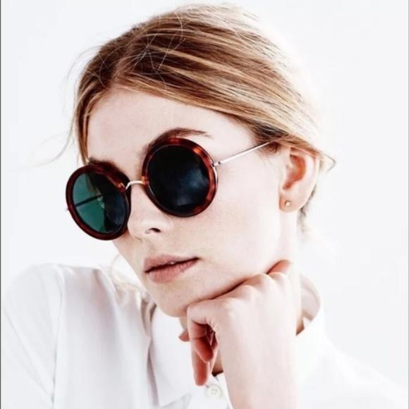 2b18ca006210 Linda Farrow Accessories - Linda Farrow The Row 8 Round Sunglasses